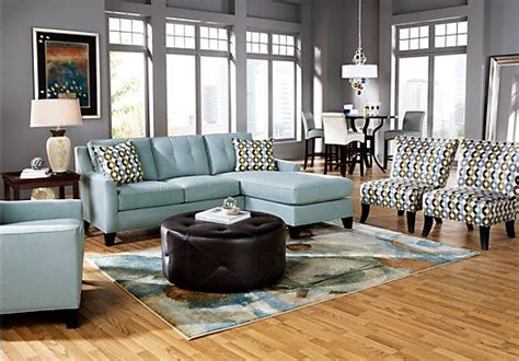 Living Room Sets Payments by Home Place Hydra 3 Pc Sectional
