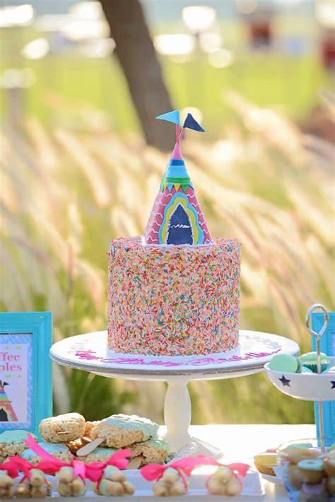 karas party ideas glamping themed birthday party  kara