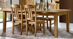salle a manger bella 4 meubles rustiques meubles bois massif With meuble salle À manger avec chaise salle a manger bois massif