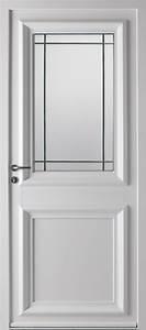 portes d39entree pvc cedre swao With porte d entrée pvc avec fenestron pvc