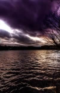 Beautiful Purple Clouds Heaven