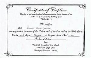 free printable baptism certificate template prayers quotes With roman catholic baptism certificate template