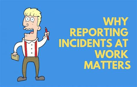reporting  incidents matters environment health