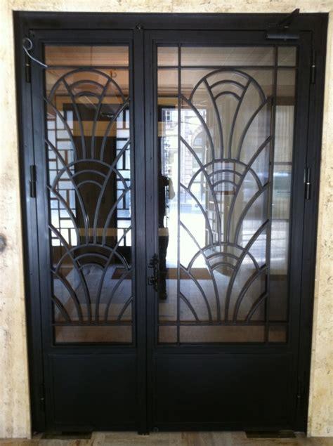decoration des portes en fer porte en fer forg 233 quot d 233 co 5 quot porte en fer forg 233 style d 233 co le grand catalogue