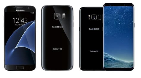 samsung galaxy s7 vs galaxy s8 what s the difference and