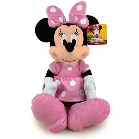 disney mickey mouse clubhouse minnie mouse plush pink