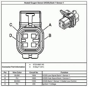 Diagram  4 Wire Oxygen Sensor Wiring Diagram Full Version