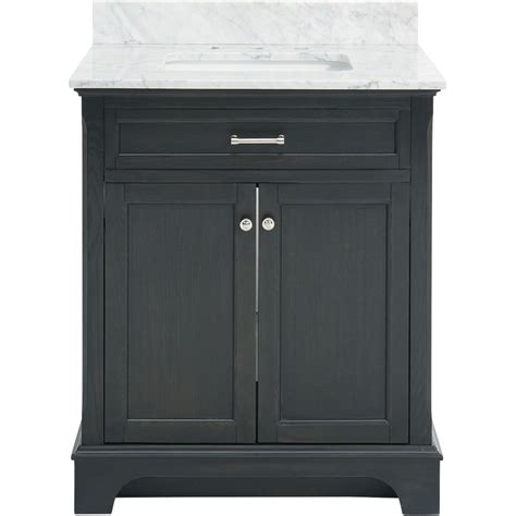 allen roth roveland gray undermount single sink birch