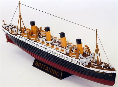 rms olympic model sinking model zone gilbow model 10004 r m s britannic white