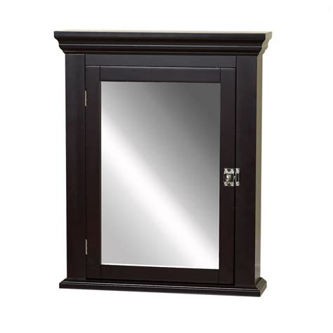 Recessed Medicine Cabinet Espresso Home Depot by Zenith Products Medicine Cabinet Espresso The Home