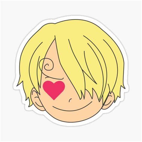 sanji stickers one logo anime stickers one
