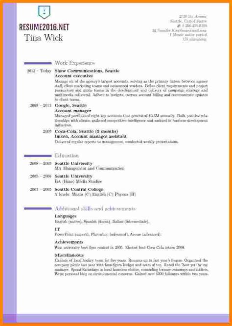 New Model Resume by Resume Format 2016 12 Free To Word Templates New