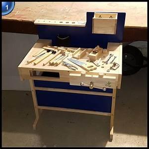 Kinder Werkbank Holz : ultrakidz kinder werkbank aus massivholz mit werkzeug kim bottenhorn ~ Eleganceandgraceweddings.com Haus und Dekorationen