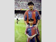 A young rafael nadal a real madrid fan pictured with his