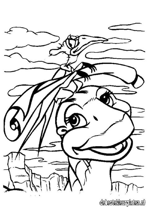 platvoet printable coloring pages