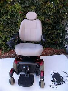 Pride Mobility J6 Power Chair With Seat Lift