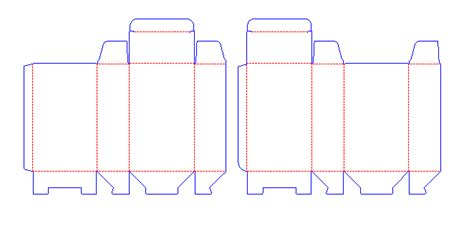 august  corrugated  folding carton box templates