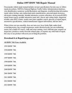 1997 Bmw 740i Repair Manual Online