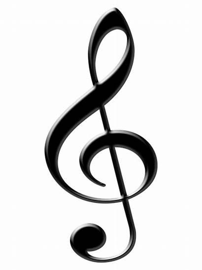 Notes Musical Symbol Treble Clipart Pixabay Clefs
