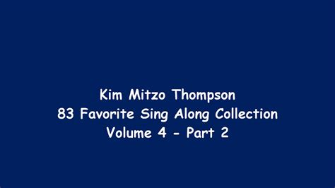 83 Favorite Sing Along Collection