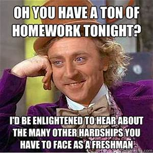 A ton of homework