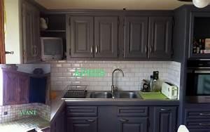 Relooking Cuisine : relooking de cuisine le bois chez vous ~ Dode.kayakingforconservation.com Idées de Décoration