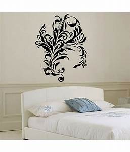 Buy decor kafe flower web wall decal small best prices