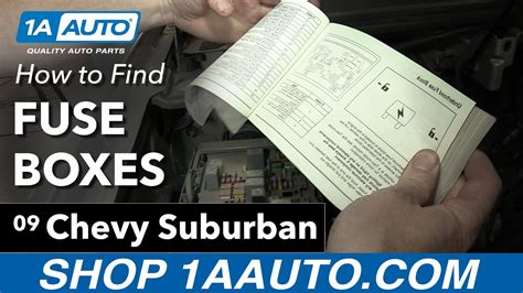 find  fuse boxes     chevy suburban youtube