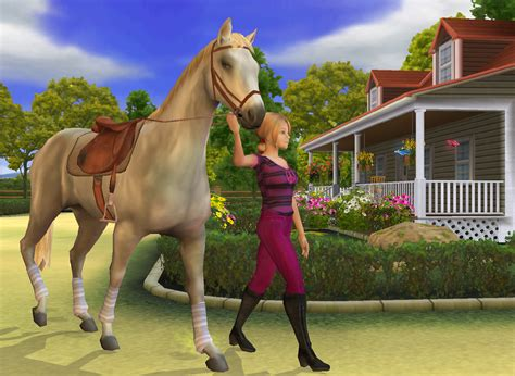 horse games playing game worth ps2 pc screenshots equine screenshot fun smartphone