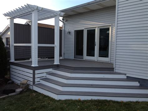 Azek Porch Decking Colors by Azek Decked Out Builders