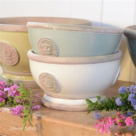 kew garden plant pots and planters in bone ivory duck