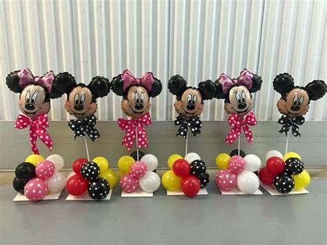 Mickey And Minnie Balloon Decorations - best 25 mickey minnie centerpieces ideas on