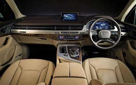audi q7 indian audi q7 interior www pixshark com images