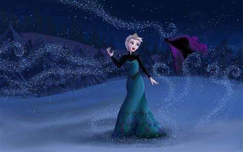 The Cold Never Bothered Anyway Carlagriffin