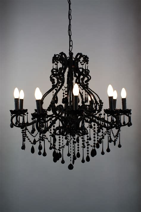 Black White Chandelier by Chandelier Black Vintage Chandelier Foohoo