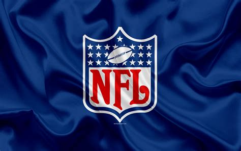 Download wallpapers National Football League, NFL logo ...