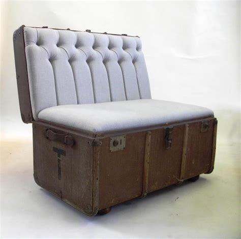Bench Trunk by Trunk Bench Furniture Of All Sorts Pinterest