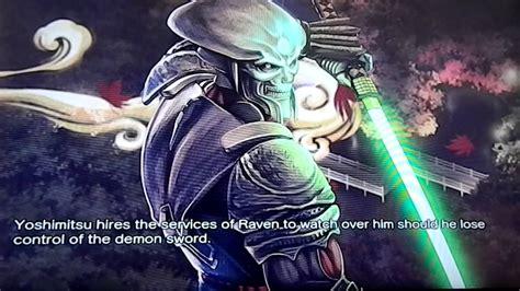 Street Fighter X Tekken Yoshimitsu And Raven Intro