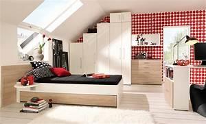 Jugendzimmer Für Mädchen : jugendzimmer design m dchen mit dachschr ge ~ Michelbontemps.com Haus und Dekorationen