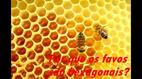 Por que os favos de mel são hexagonais? YouTube