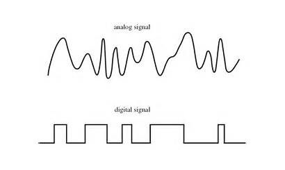 Digital Analog Signals Analogue Signal Difference Between