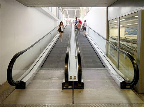 le scale mobili uso pubblico  il loro utilizzo