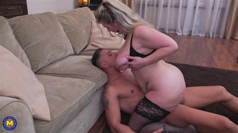 Sandy Is A Super Horny Mature Blonde With Big Tits Who