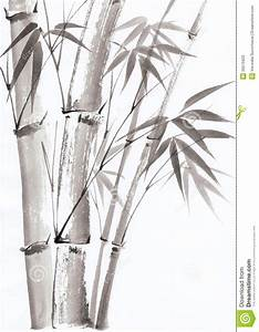 Watercolor Painting Of Bamboo - Download From Over 40 ...