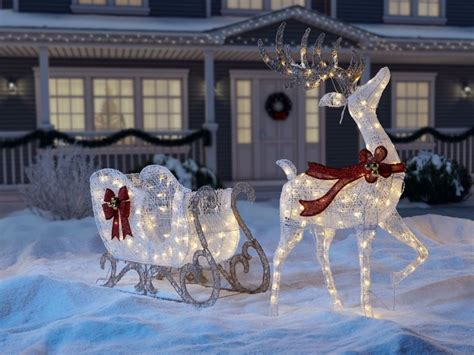 coole weihnachtsdekoration im aussenbereich gestalten