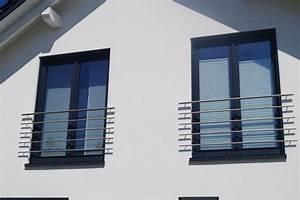 absturzsicherung franzosische balkone berther edelstahl With französischer balkon mit gartenzaun aufstellen lassen
