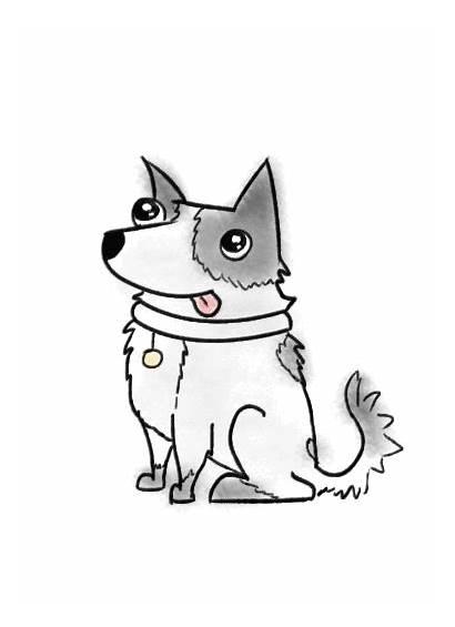 Animated Dog Giphy Heeler Kelpie Lisa Gifs