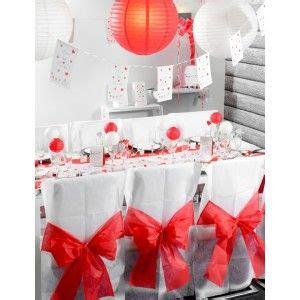 louer des housses de chaises pour mariage housses de chaise intissé blanc noeud les 10