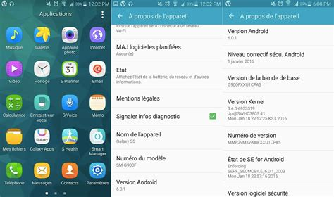 android version 6 0 1 android 6 0 marshmallow lanzamiento samsung galaxy s6