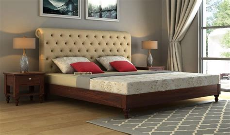 buy samberg upholstered bed  storage king size